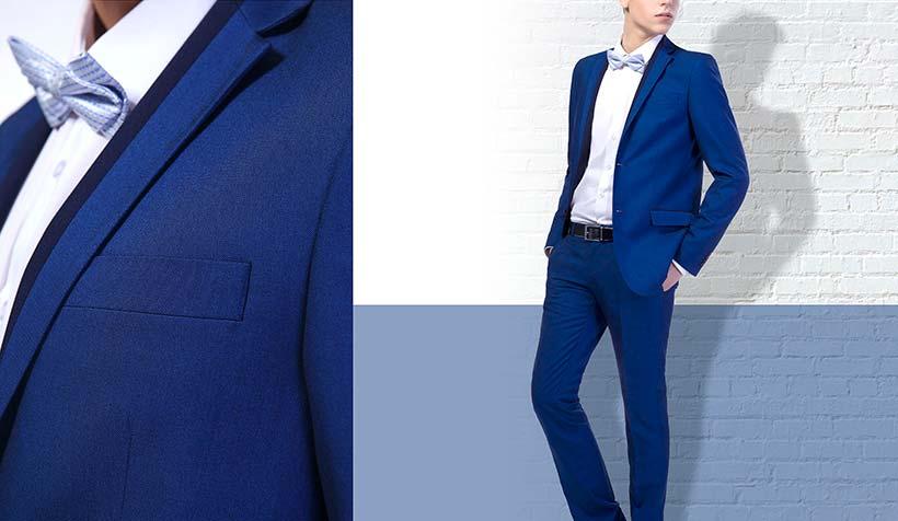 Какого цвета рубашка подойдет к синему костюму?