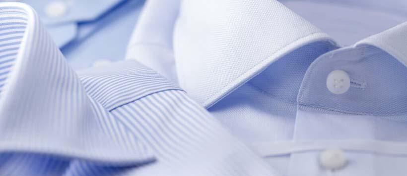 Эффективная стирка ворота на мужской рубашке