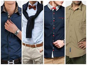 Фото мужских рубашек