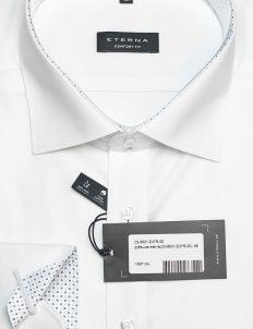 Белая мужская рубашка Comfort Fit 100% хлопок