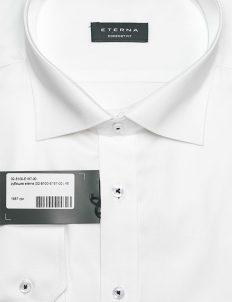 Белоснежная рубашка в силуэте Comfort Fit 100% хлопок