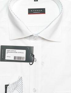 Белая мужская рубашка в силуэте Modern 100% хлопок