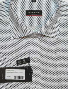 Белая шведка с орнаментом классического кроя 100% хлопок