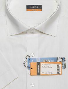 Мужская рубашка с коротким рукавом Slim Fit 100% хлопок