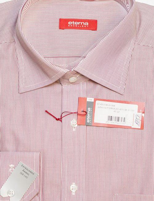 Красная в полоску рубашка Modern Fit 100% хлопок