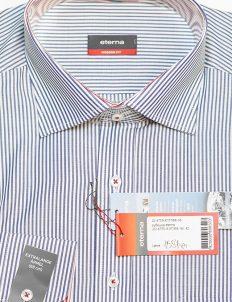 Мужская рубашка в полоску 100% хлопок 100% хлопок