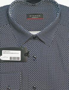 Slim Fit рубашка с длинным рукавом синяя 100% хлопок