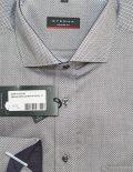 Рубашка серая с длинным рукавом прямая 100% хлопок