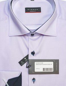 Мужская рубашка с длинным рукавом прямого кроя 100% хлопок