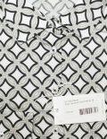 Женская блуза с плетенным узором в серых тонах 100% хлопок